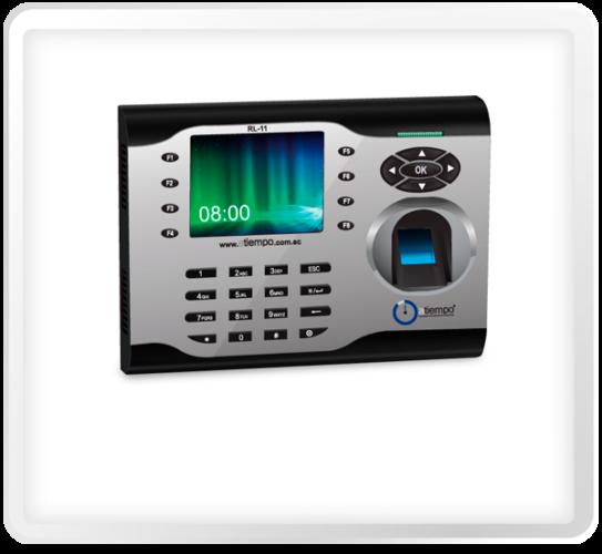 Reloj Biométrico para Control de Asistencia y Acceso del Personal a la Empresa.